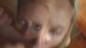 Blonde hair brown eyes fucked